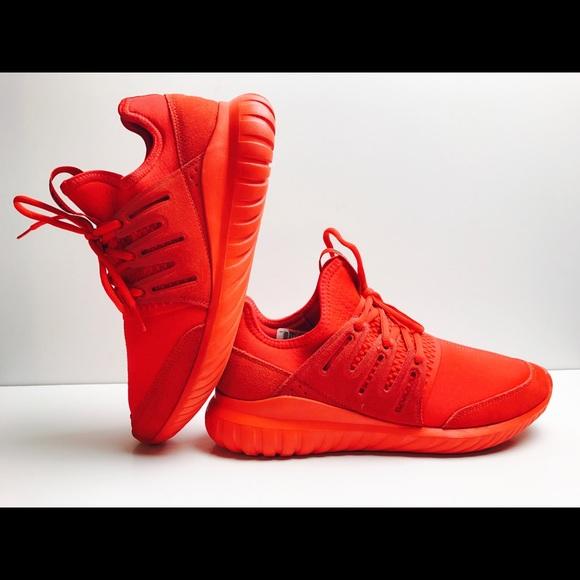 Le adidas tubulare radiale originali rosso Uomo 9 poshmark